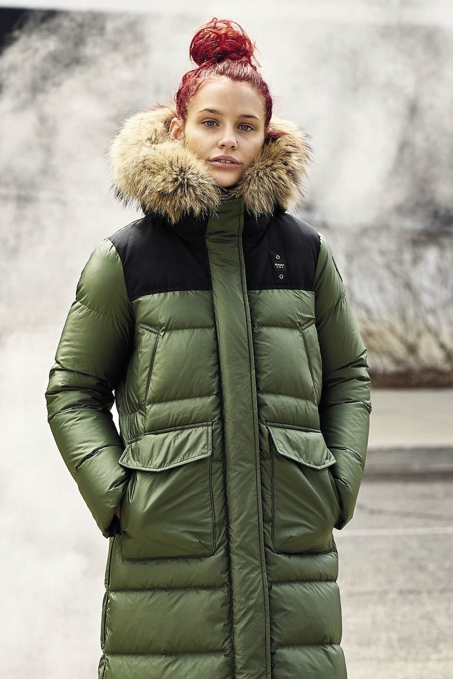 One of the FW18-19 collection highlights is the Blauer Down Collection. The down jackets for men and women present four different types of fill.